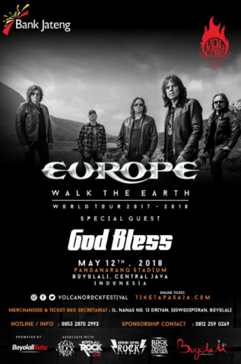 EUROPE WORLD TOUR 2017 - 2018