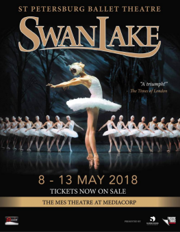 The St Petersburg Ballet - Swan Singapore